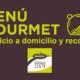 Menú Gourmet servicio a domicilio